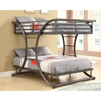 Viv Rae Valerie Full Over Full Bunk Bed Contemporary Bunk Beds