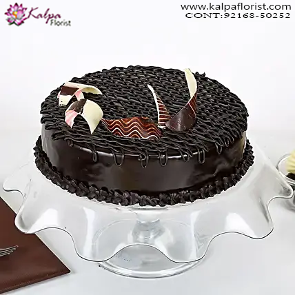 Rich Chocolate Splash Cake 1 kg ( Cake Delivery in India