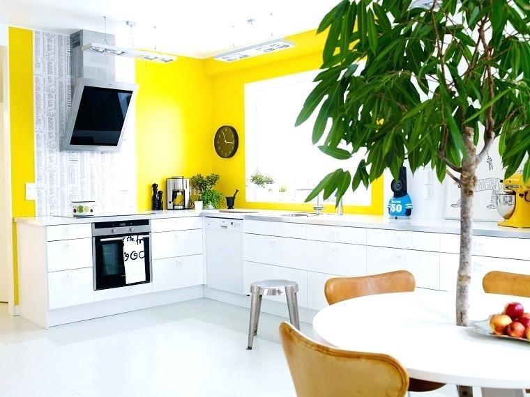 Risultati immagini per pareti cucina colorate | Colori Casa ...