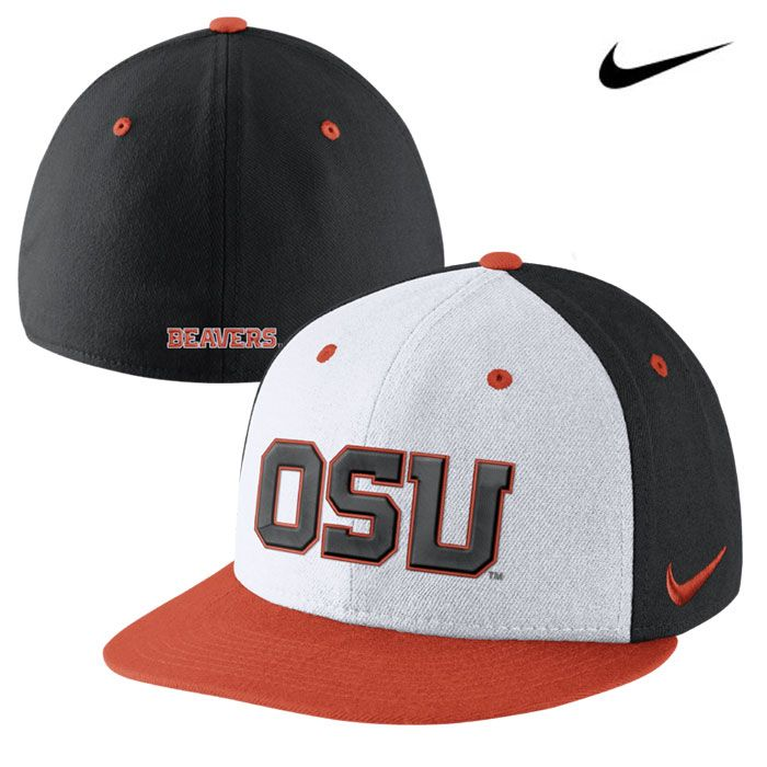 big sale ab225 2c76f Oregon State Beavers Nike Dri-FIT True Authentic Fitted Hat http   www