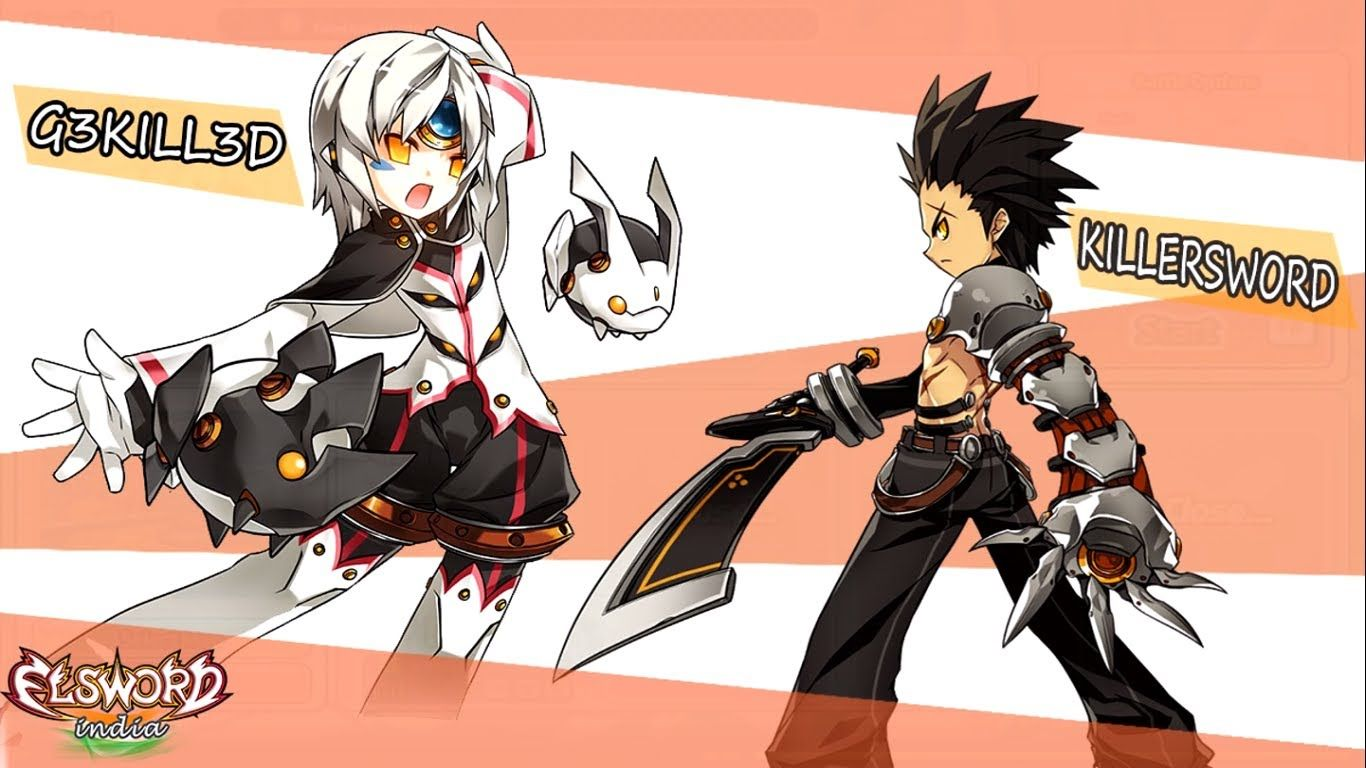 Elsword Fight Between G3tkill3d & KillerSwordhttp//www