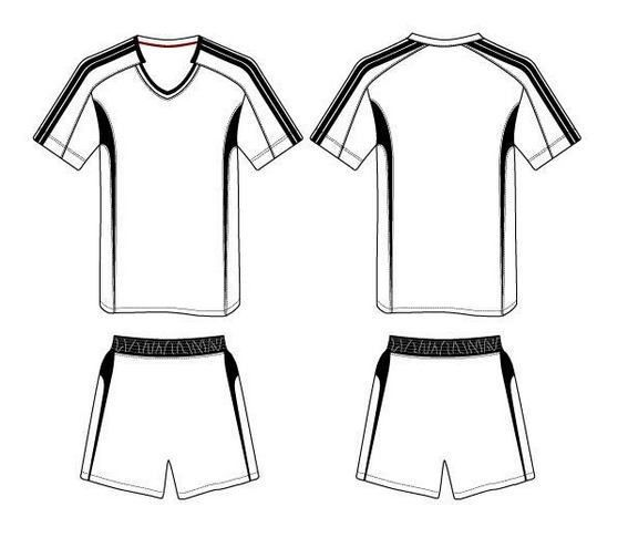 The Best Sketch Drawing Of Soccer Jersey Olahraga