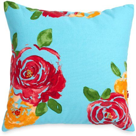 The Pioneer Woman Rose Decorative Pillow 2f10029e79
