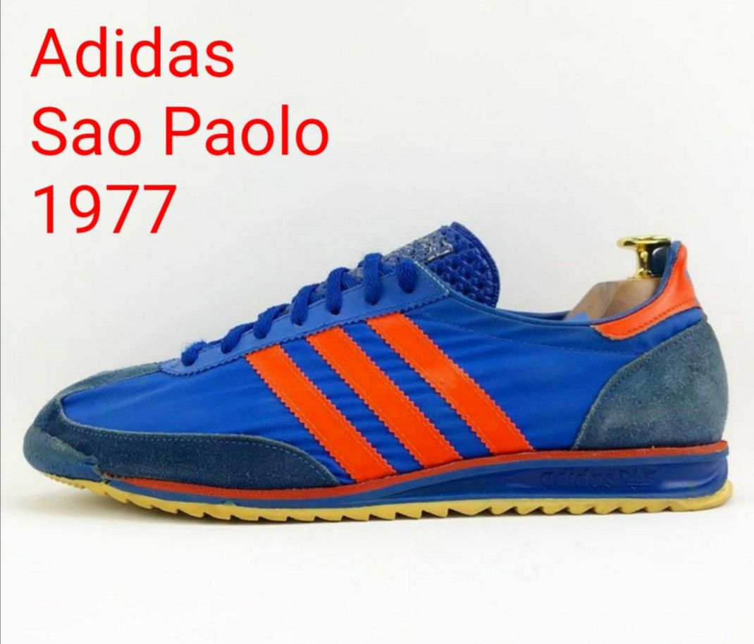 ecuación restante carro  Adidas' West German factory manufactured the Sao Paolo in 1977... | Adidas  classic shoes, Adidas fashion sneakers, Adidas casual