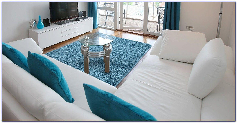shaggy blue 5x7 area rug