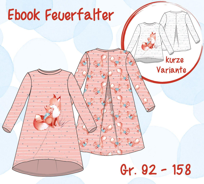Photo of Ebook Feuerfalter – Kleidchen oder Sweatshirt – Gr. 92-158