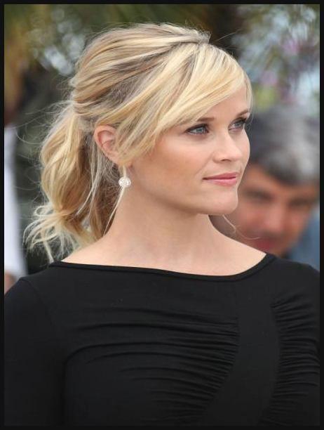 Hairstyle Der Stars Reese Witherspoons Frisuren Einfache Frisuren