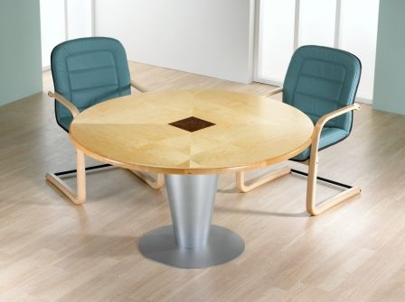 Smooth Classic Circular Meeting Table Small Office Meeting - Small circular office table