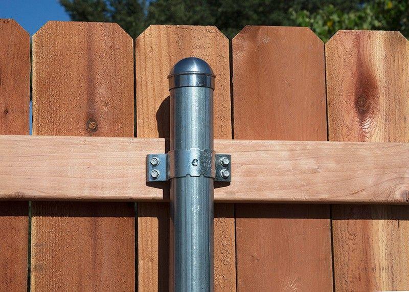 Metal Fence Post Brackets Professional Deck Builder Fencing