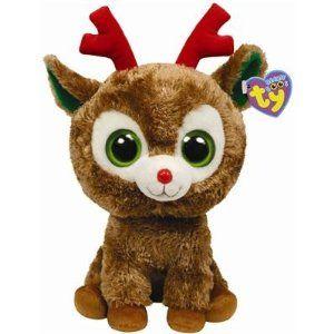 Ty Beanie Boos Buddies Comet - Reindeer (BBUD) | Olivia Christmas ...