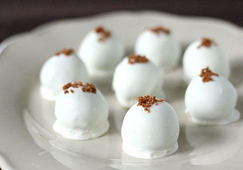 The Galley Gourmet: Pumpkin Cream Cheese Truffles