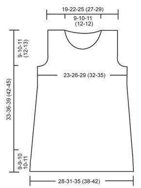 """Das Set besteht aus: DROPS Kleid und gehäkelter Mütze in """"BabyAlpaca Silk"""". ~ DROPS Design"""