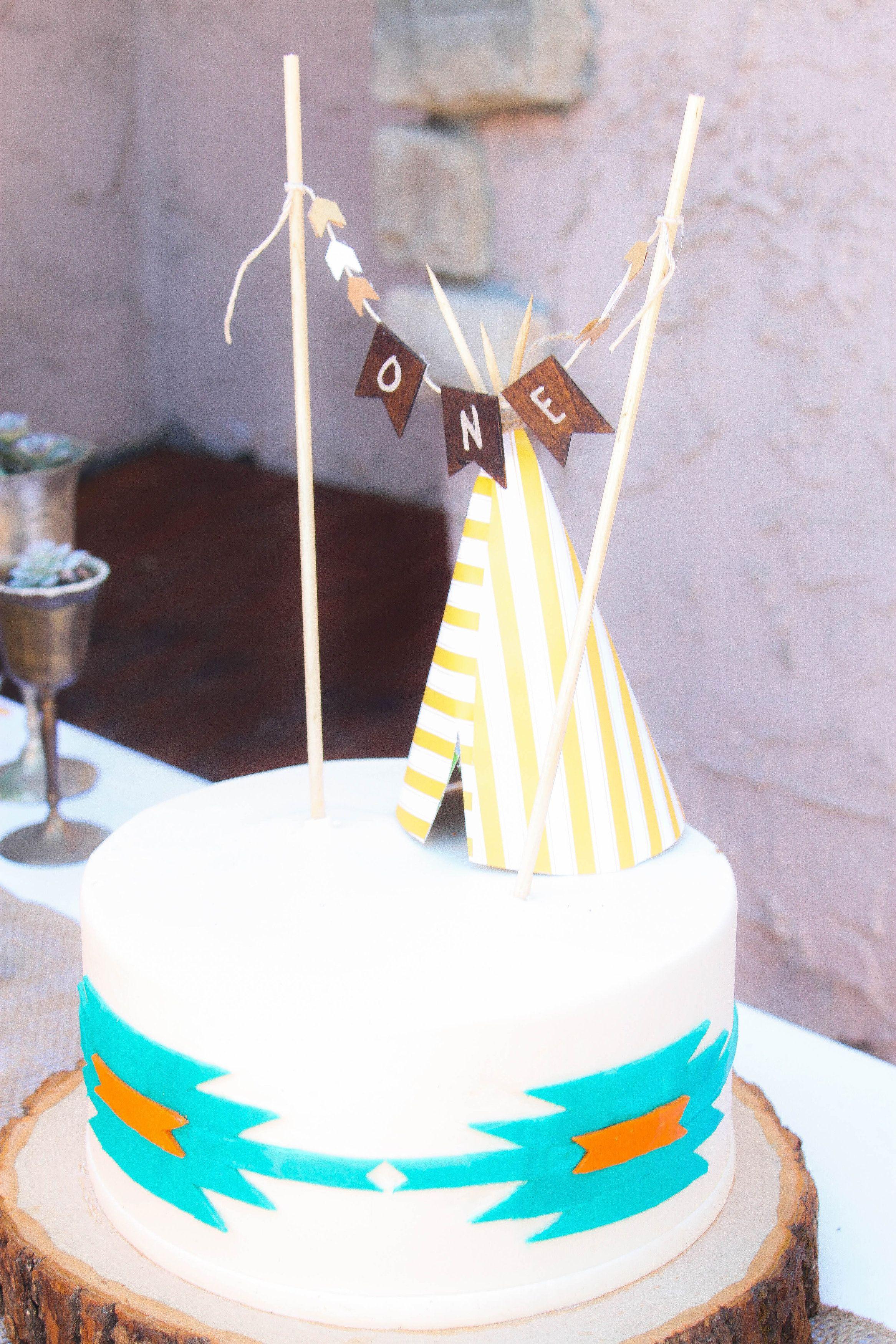 teepee cake Teepe Cake Teepees Cake Smash Cake Baby