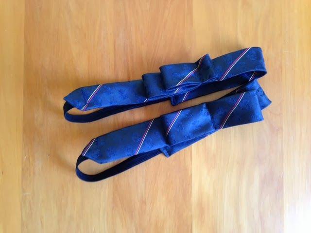therusty_hen_crafts: Upcycle tie headband