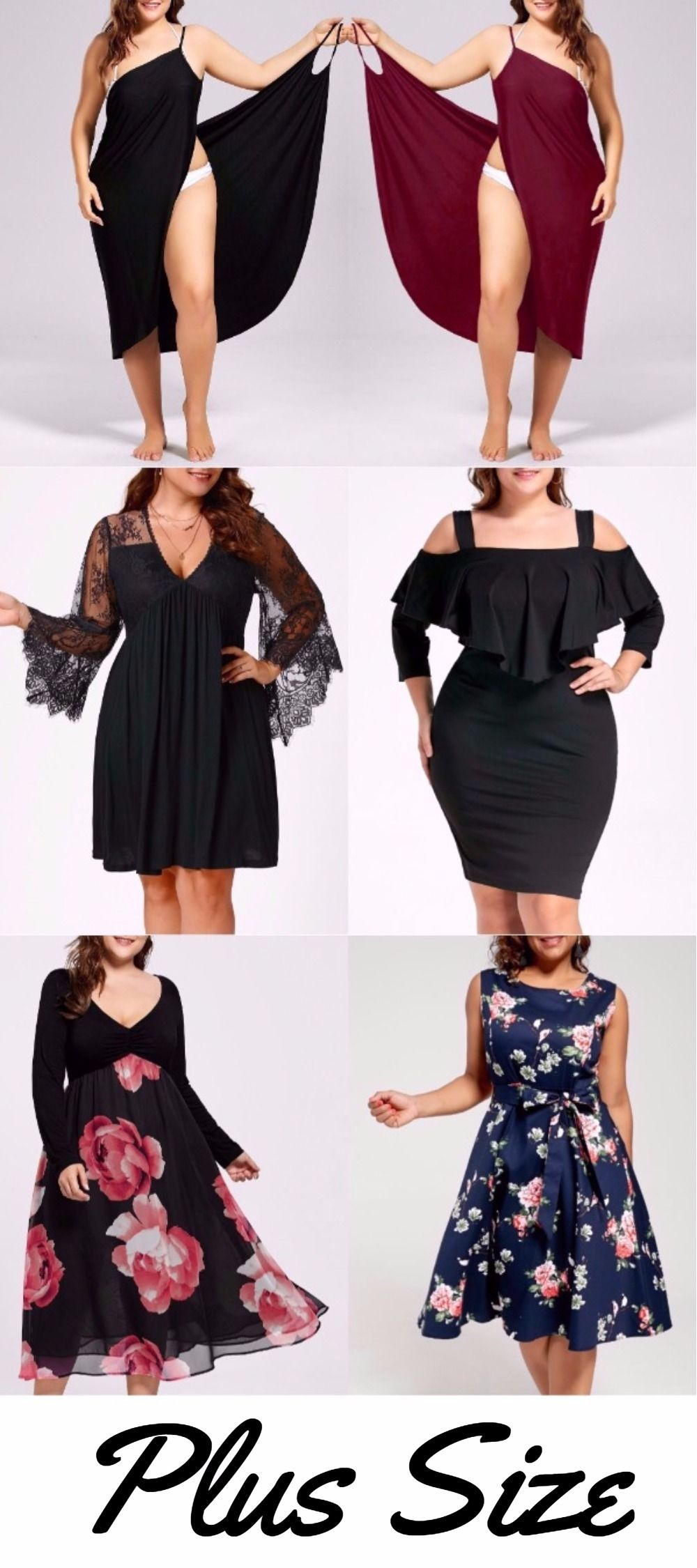 Plussize dress up to off start from sammydress