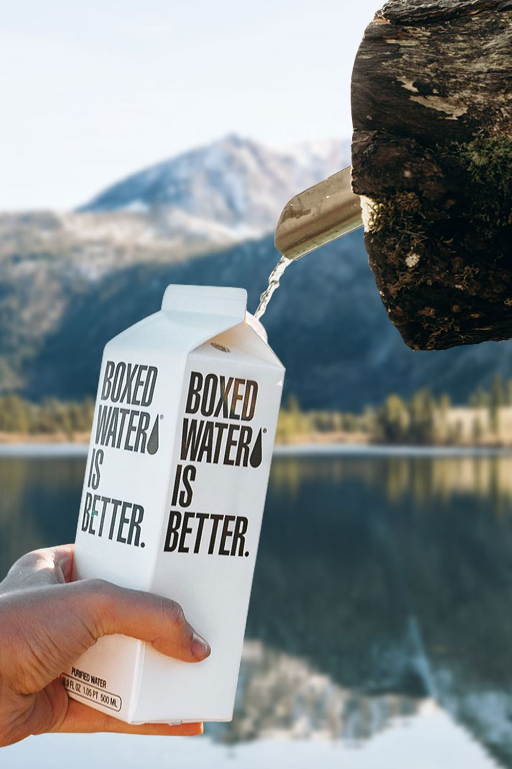 Better for you. Better for the planet.   Drinks packaging design ...