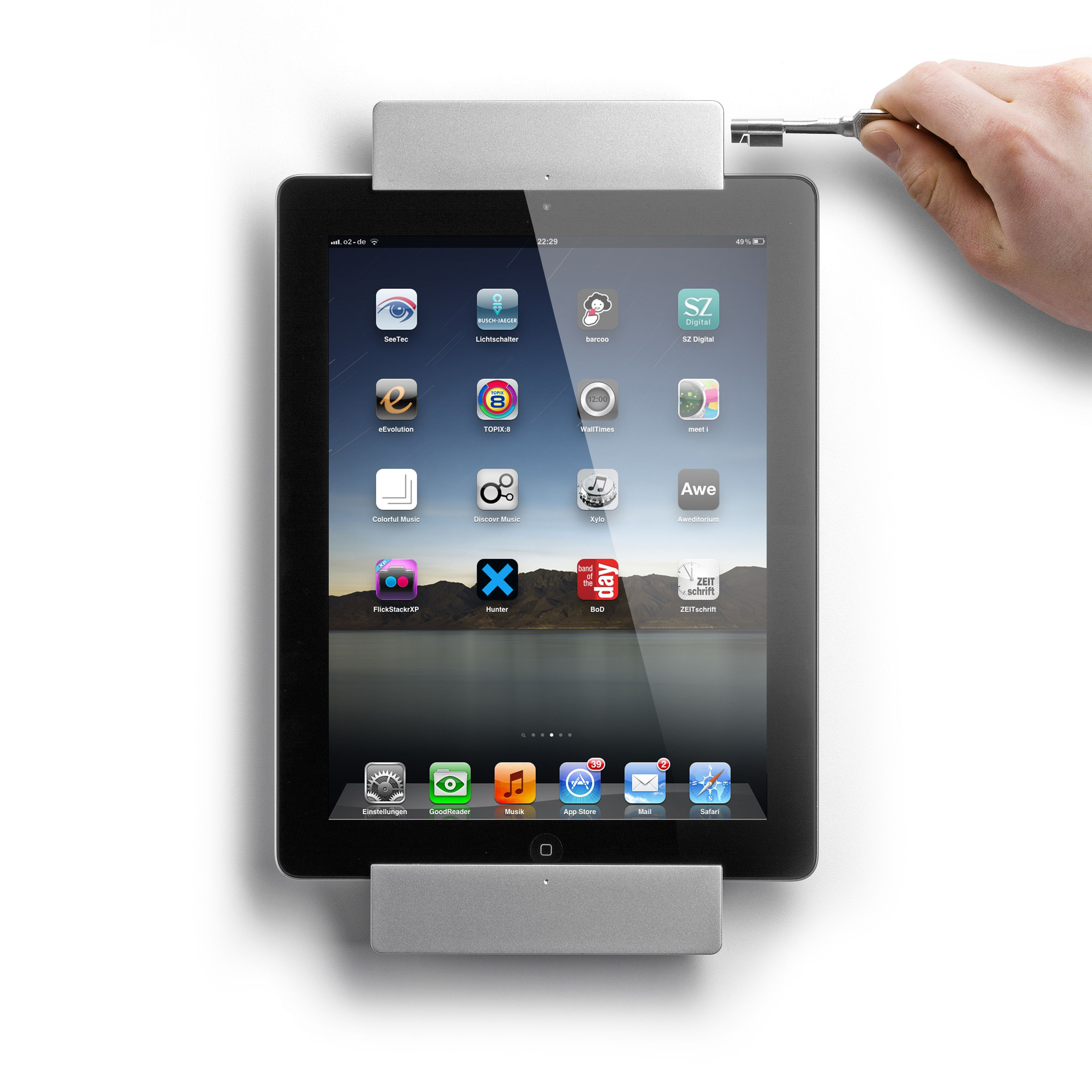 scharge in wall power supply for sdock easy handling you can insert your ipad into