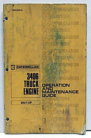 1980 caterpillar 3406 truck engine operation maintenance guide rh pinterest com