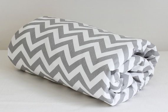 Baby quilt and quilt cover #Chevron Cot Quilt Cover by raenne, $100.00 #nursery #mamalicious