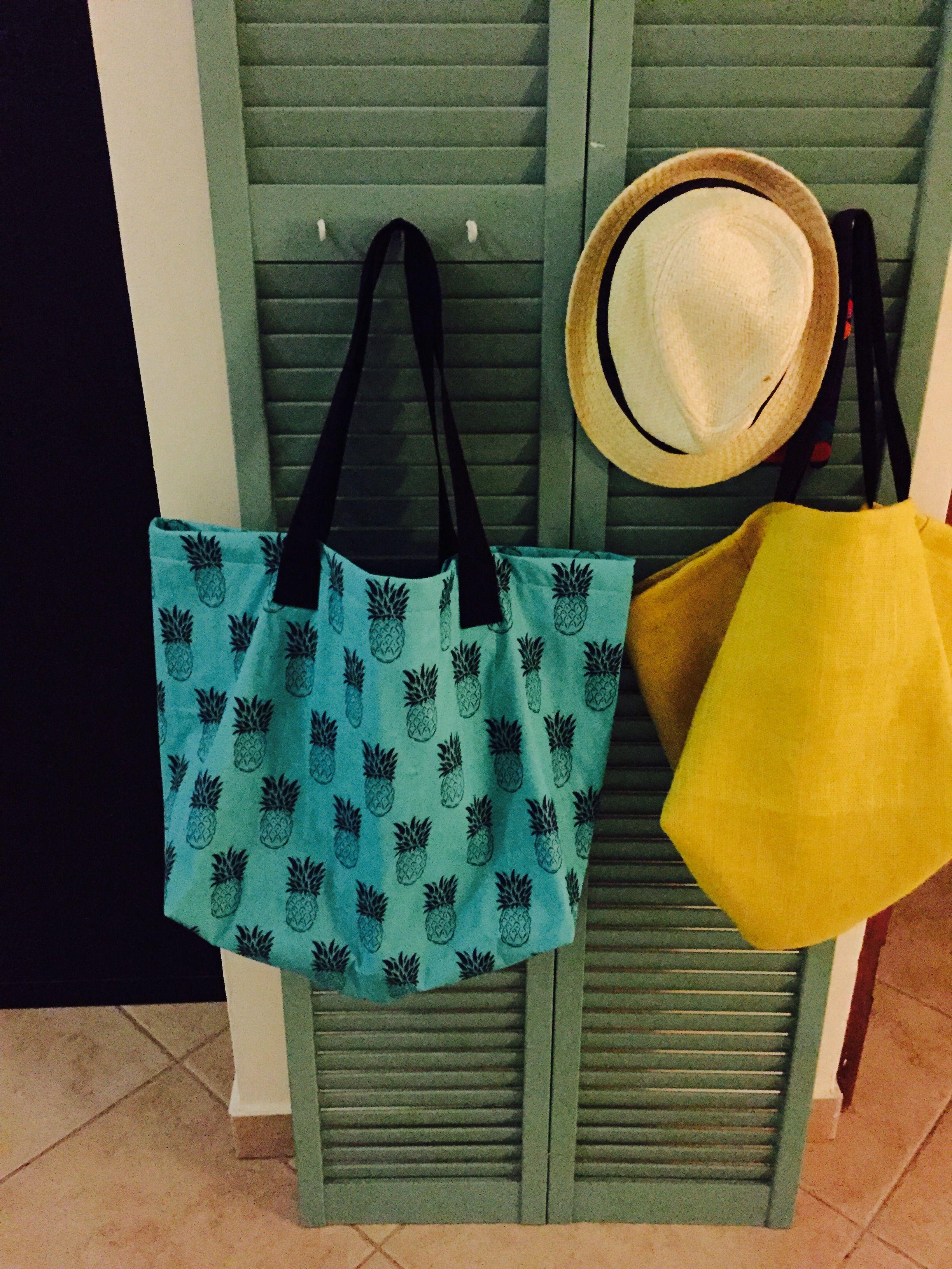 Pineapple beach bag