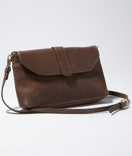 Leather Envelope Clutch in  from L.L.Bean Signature on shop.CatalogSpree.com, your personal digital mall.