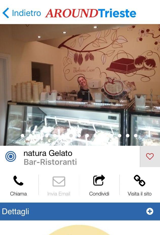 #Gelateria #Trieste ...una gelateria che propone ai suoi clienti gelati 100% naturali....rigorosamente senza coloranti e aromi artificiali aggiunti...Natura Gelato ti aspetta a piazza Hortis 6/a oppure chiama al 3920826498 dalle 15.00 alle 19.30 e natura Gelato arriverà direttamente a casa tua!!...