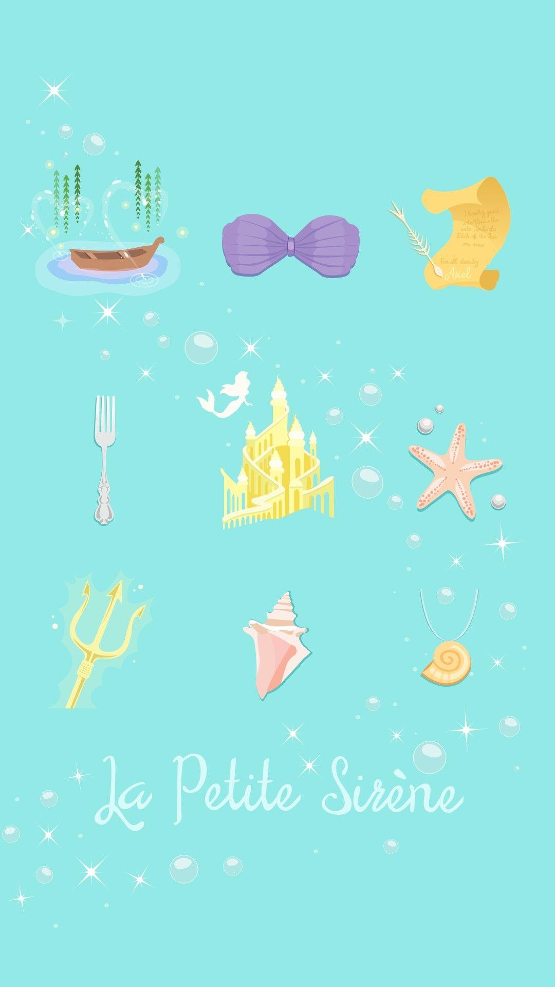 The Little Mermaid Mermaid Wallpaper Iphone Mermaid Wallpapers