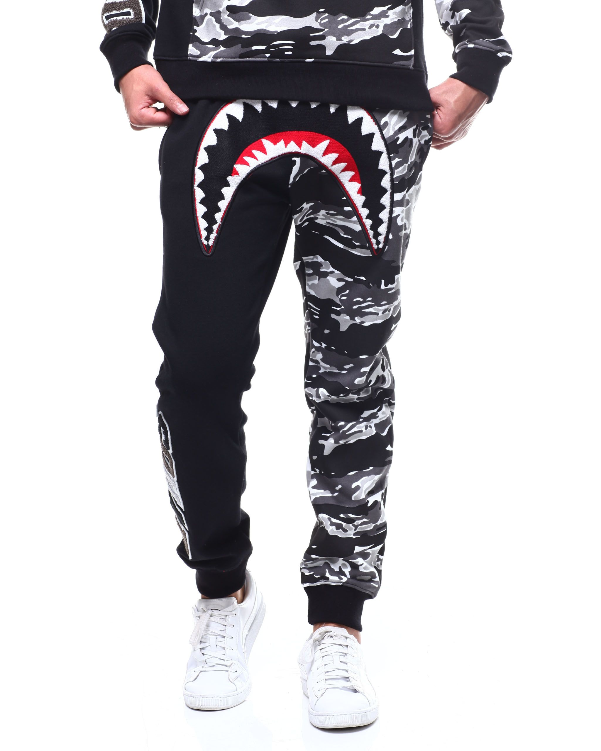 27d579702 Tiger Shark Mouth Sweatpant Men's Jeans & Pants from Hudson NYC at  DrJays.com