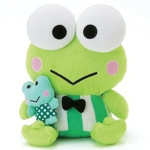 bcf670b7731 JAPAN SANRIO HELLO KITTY KERO KERO KEROPPI PLUSH DOLL (M)SIZE 290718 ...