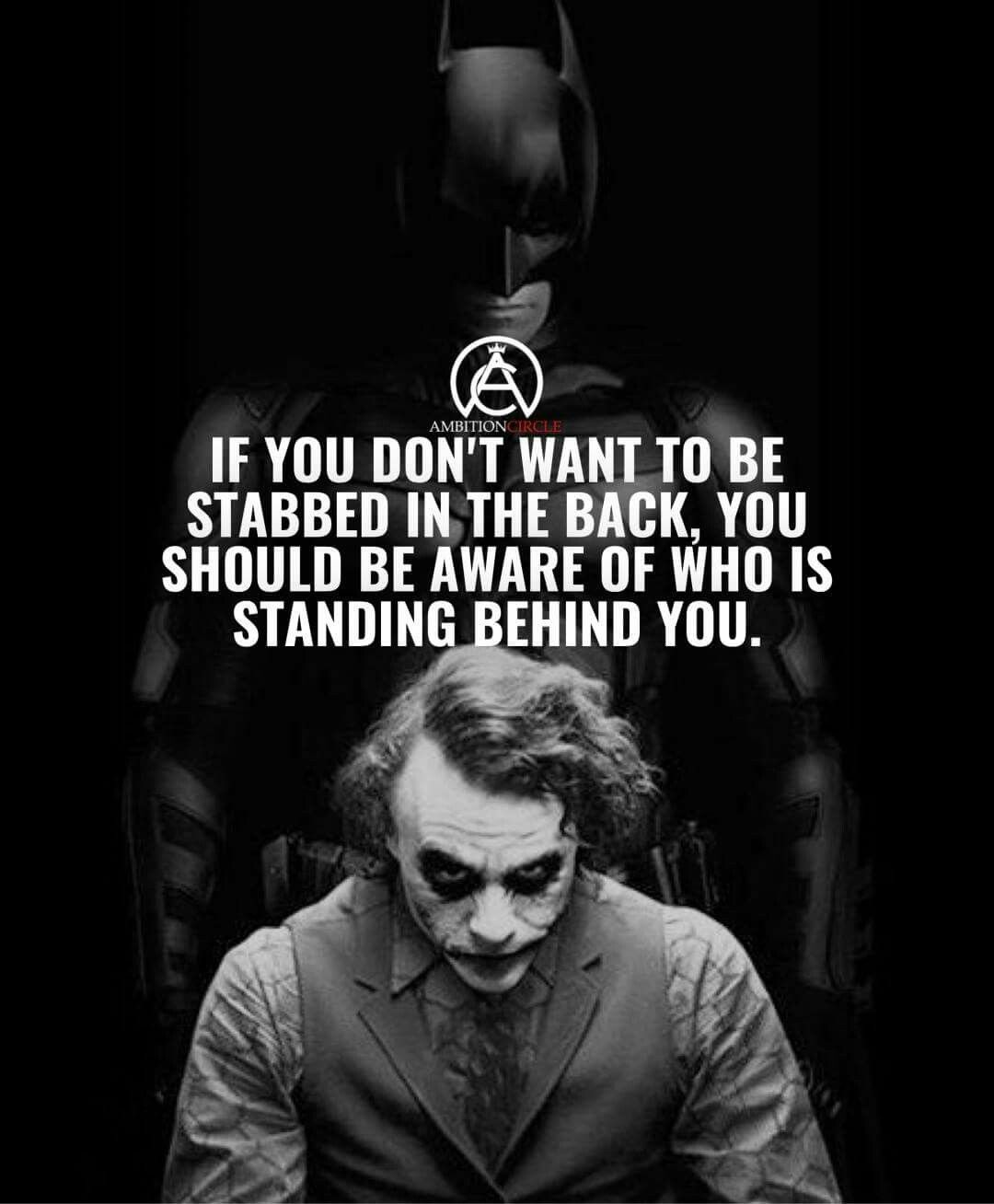 True Or Sitting Behind You My Quotes Quotes Joker