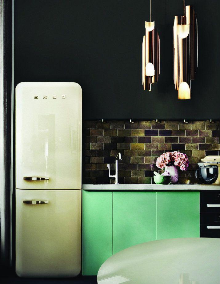 Style Industriel Le Luminaire Parfait Pour Votre Cuisine Cuisines Design Idee Deco Maison Deco Maison