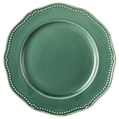 Threshold Beaded Dinner Plate Set Of 4 Teal Target 3