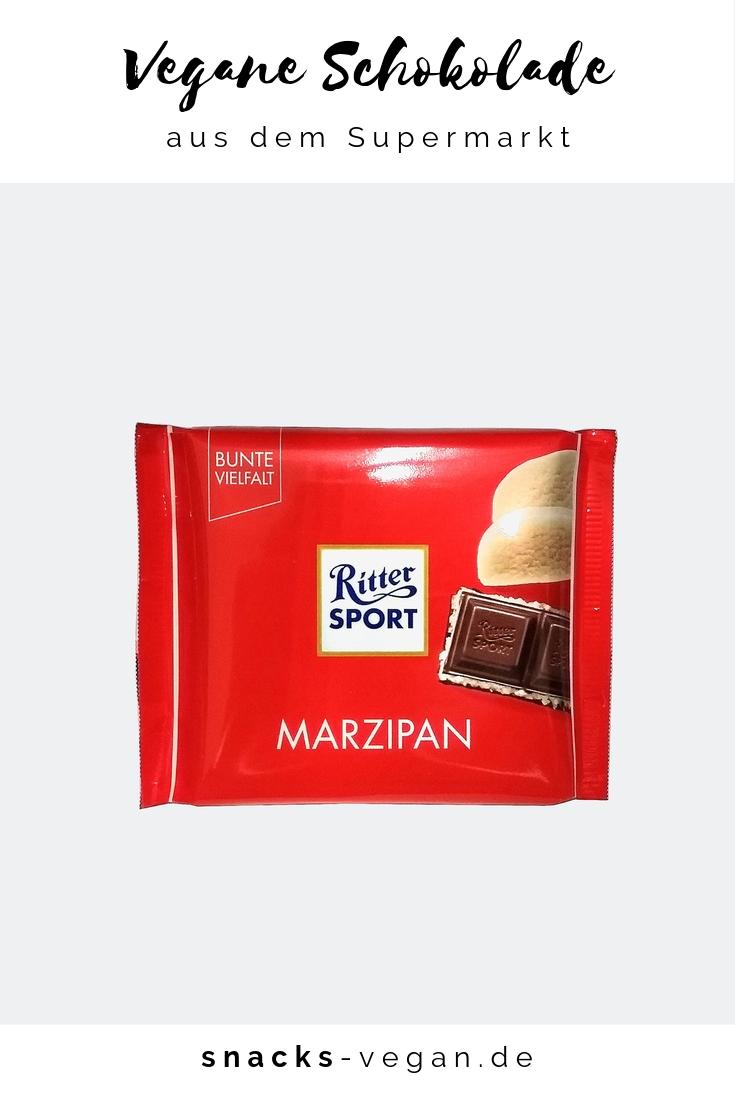 snacksvegan Ritter Sport Marzipan Ritter sport