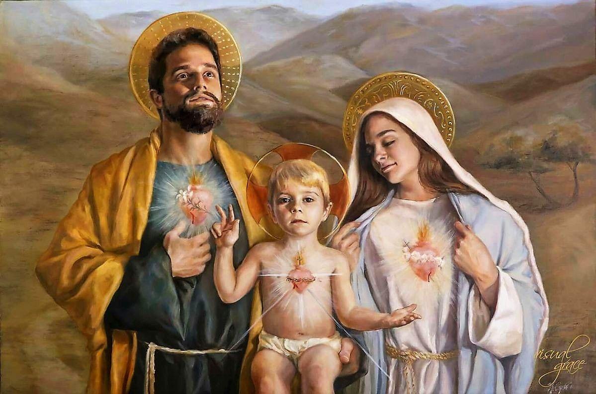 Sainte Famille De Nazareth Jesus Marie Et Joseph Chretiente