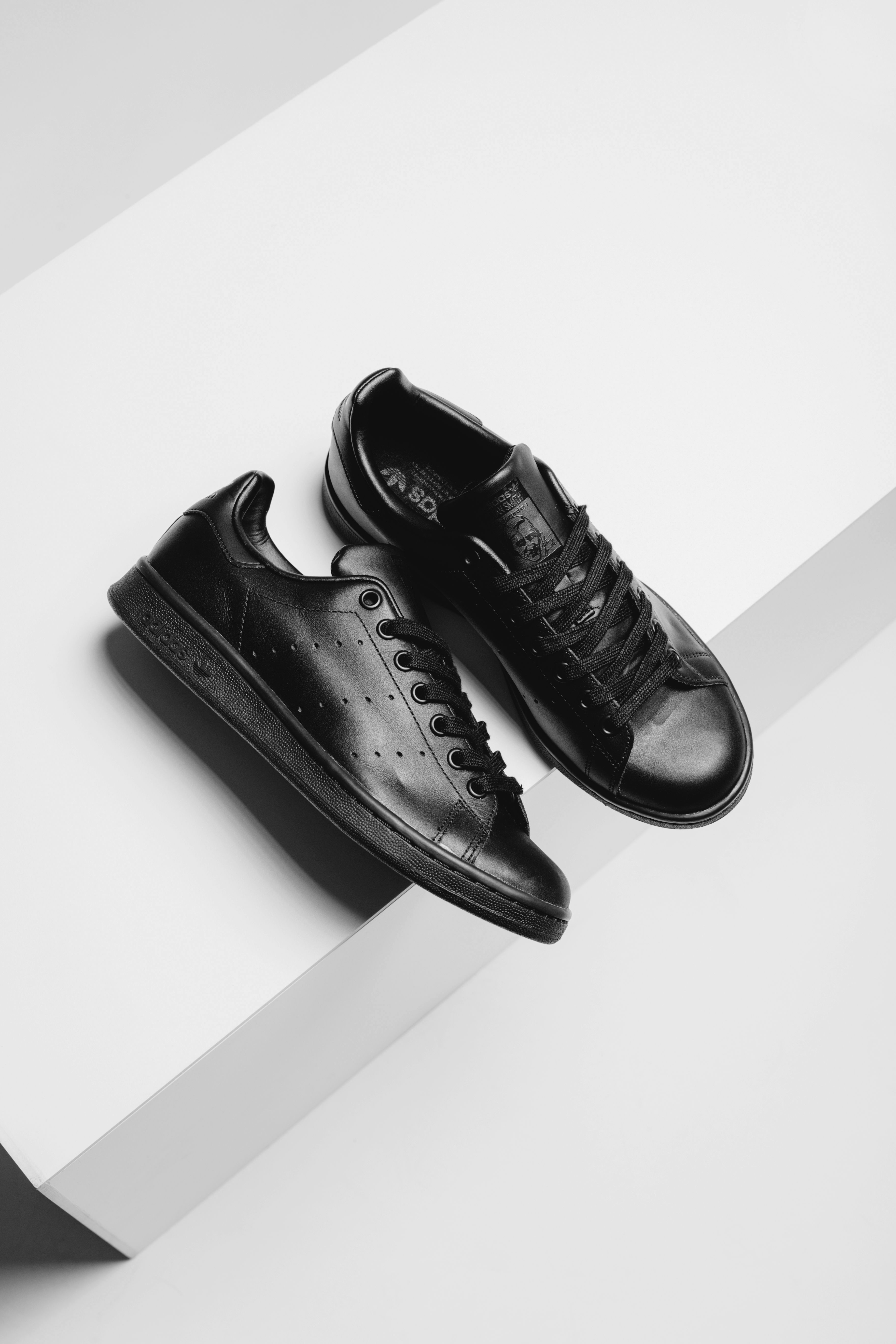 competitive price 058a5 e708f Adidas Originals Stan Smith  Triple Black   Adidas  StanSmith  TripleBlack   Fashion  Streetwear  Style  Urban  Lookbook  Photography  Footwear   Sneakers ...