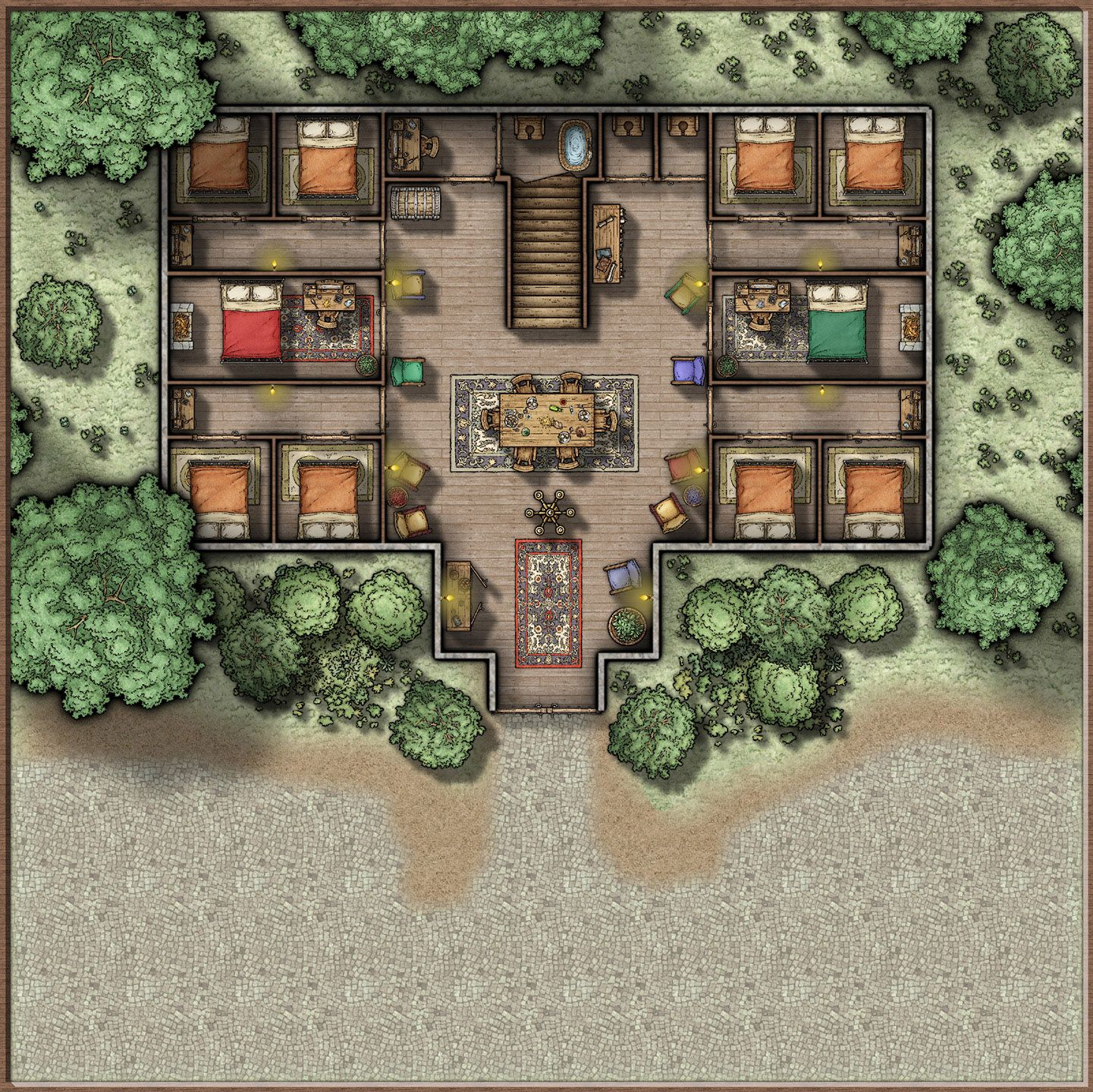 Pin by Bailey Poletti on Maps in 2019   Fantasy city map, Fantasy