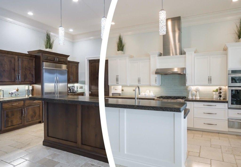 Cabinet Refinishing Detroit In 2020 Refinishing Cabinets Kitchen Cabinet Remodel Cabinet Refacing