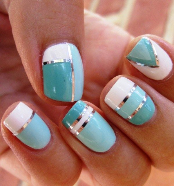 Cute nail polish design ideas nail designs pinterest summer cute nail polish design ideas prinsesfo Images