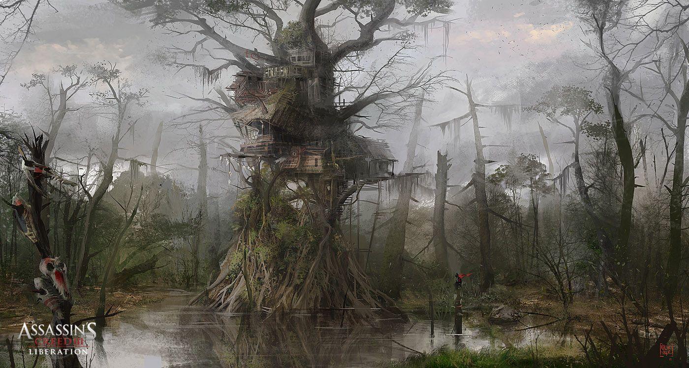 swamp game - Поиск в Google   Swamp   Art, Assassins Creed ...