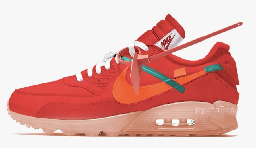 695f8134bb4a Dec 2018 Nike Air Max 90 x Off-White University Red  160.00 Download the  Sneaker Crush here  snkcr.sh 2dDpWOC