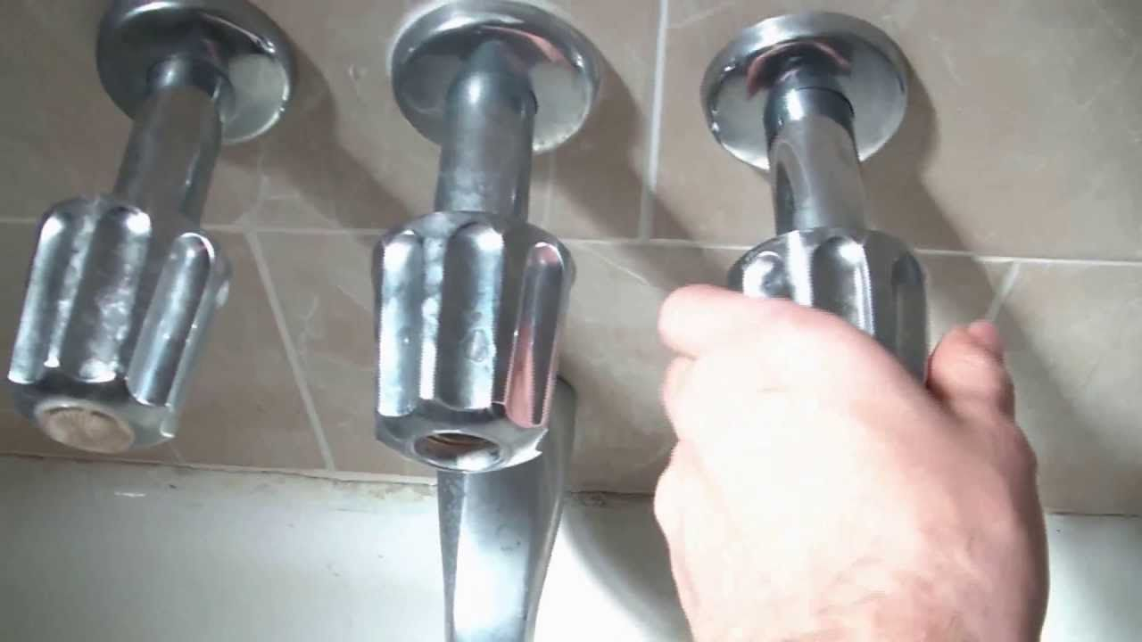 How To Fix A Leaking Bathtub Faucet Quick And Easy | DIY | Pinterest ...