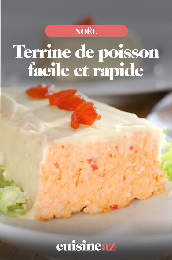 Terrine De Poisson Facile Et Rapide Recette Terrine De Poisson Facile Terrine De Poisson Terrine