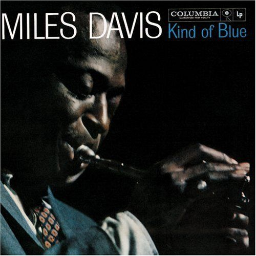 Miles Davis Kind of Blue - Originally released in 1959, Miles Davis's Kind of Blue is still considered by many to be one of the greatest albums of all time. Starring Davis, John Coltrane, Cannonball Adderley, Bill Evans, Wynton Kelly, Paul Chambers, and Jimmy Cobb, Kind of Blue has held onto its status as an album that crosses genres, speaks to generations, and is one of the first (if not the first) album that any new jazz acolyte purchases.