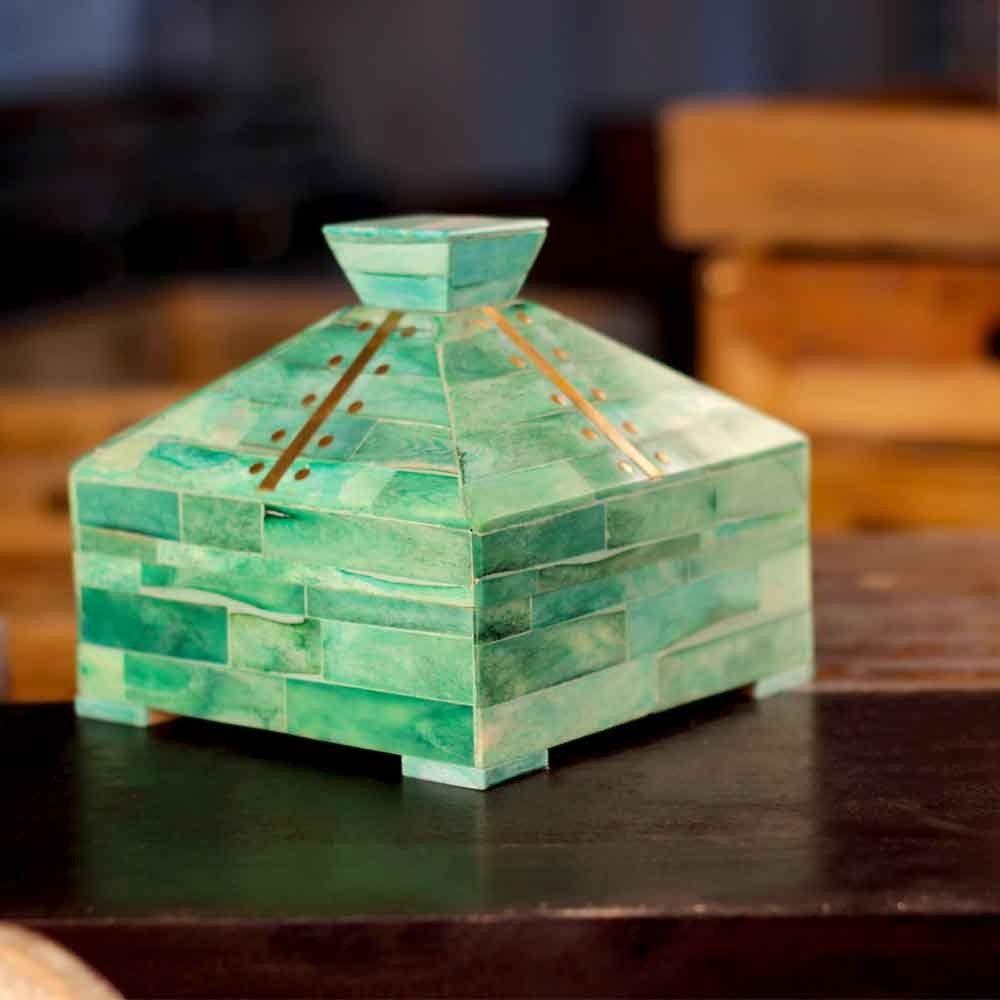 Handmade Decorative Boxes Pyramid Plus Decorative Box #decorativebox #decorativeboxes