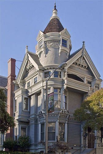 San Francisco Victorian Painted Lady House Photos   Picture Of  Haas Lilienthal House