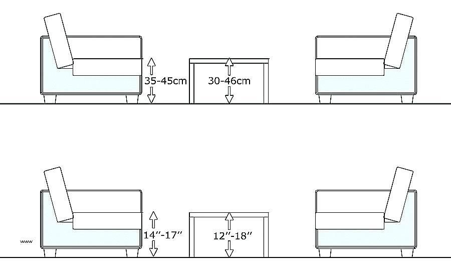 Average Coffee Table Height End Average Height Of Coffee Table
