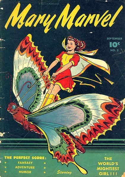 Mary Marvel 1946.