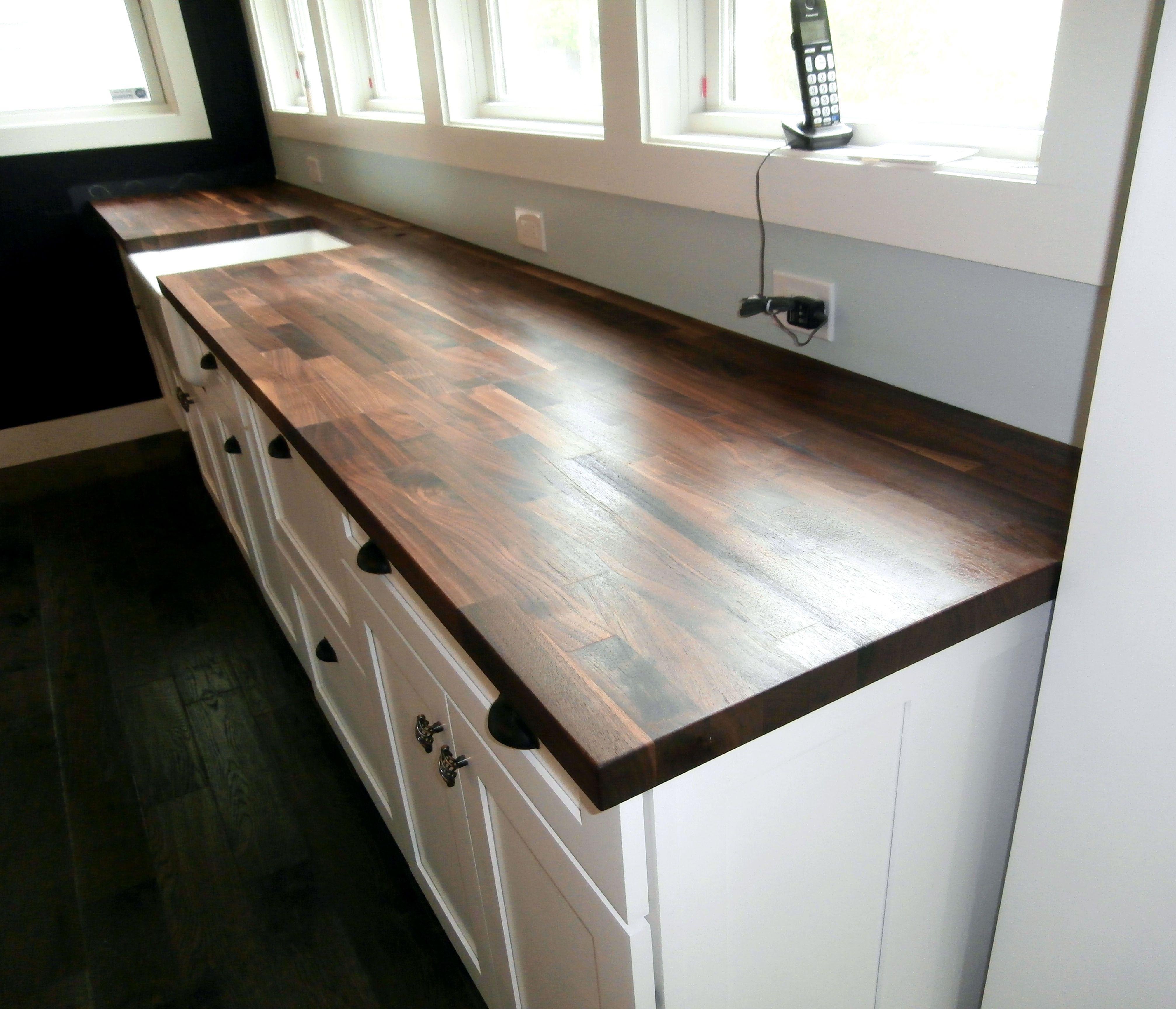 Walnut Eco Pro Countertop Designed By And Made For Millbrook Cabinetry Design In