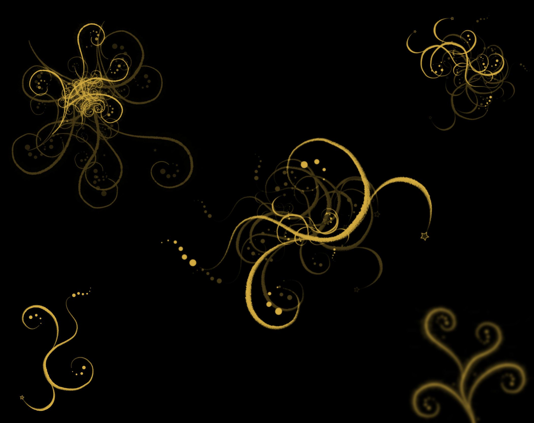 Black And Gold Wallpaper Hd Android Desktop Abstract ...