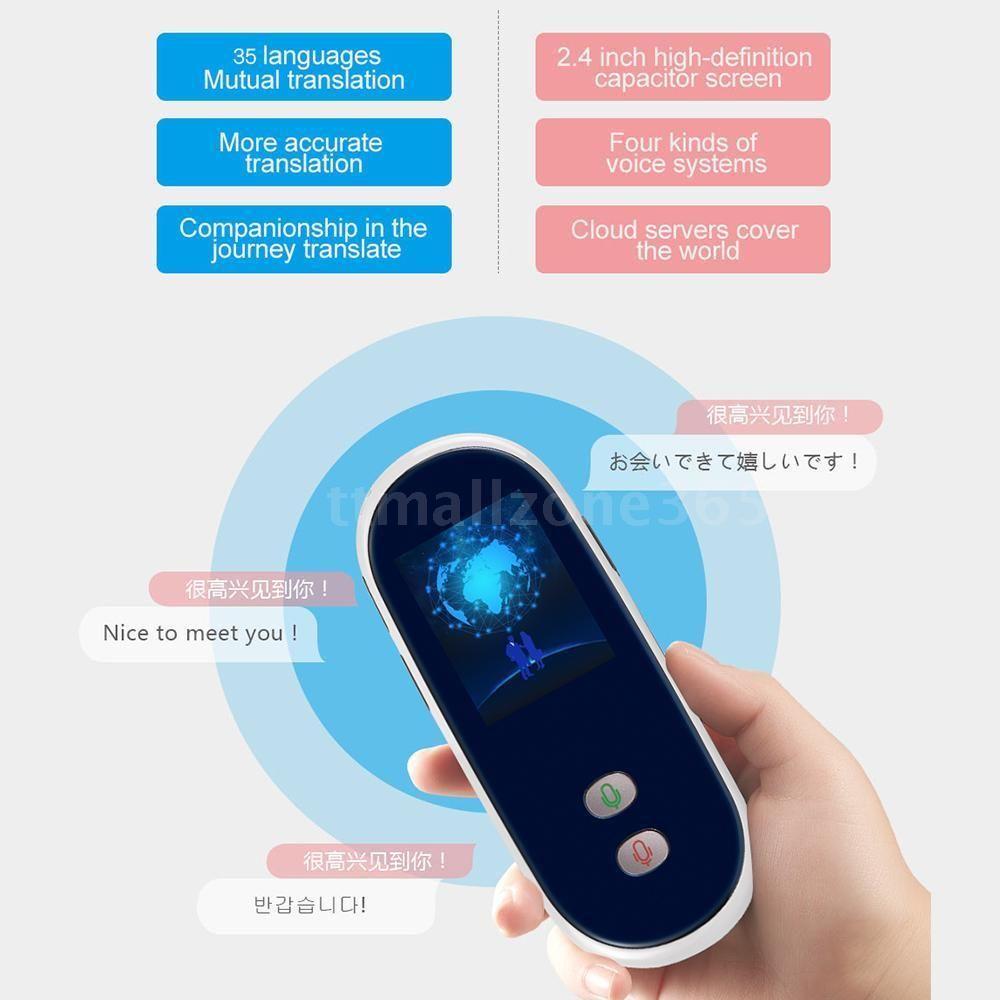 Intelligent 35 Language Translation Electronic Mifi Translator Two